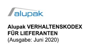 Alupak Code of Conduct Lieferanten